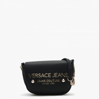 4453f6597b Versace Jeans Rostav Black Logo Two Way Bag