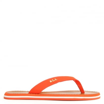 Ryanne Orange Toe Post Flip Flops