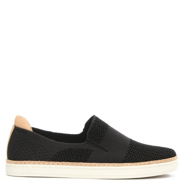 Sammy Black HyperWeave Slip On Trainer