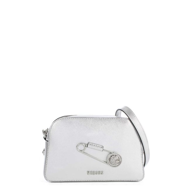 Sanur Silver Leather Cross-Body Bag