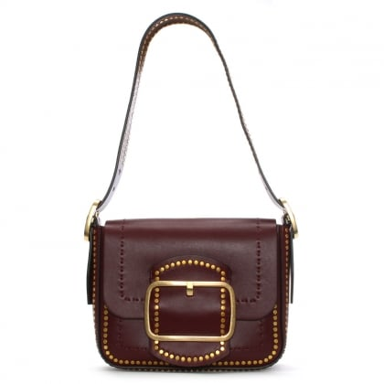Sawyer Port Suede Shoulder Bag