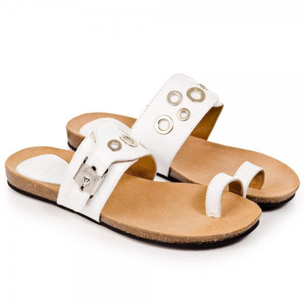 764692ad1496 Scholl White Tikehau Women s Flat Sandal