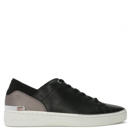 Scout Black Leather Sneakers