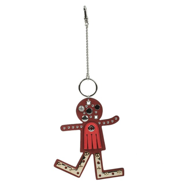 Screwed Up Faces Red Bag Charm