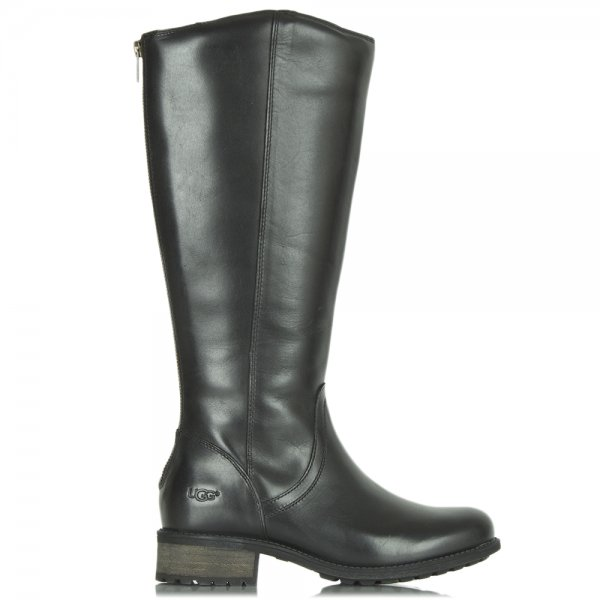 e1af7c33da4 Ugg Australia Seldon Black Leather Knee High Boot