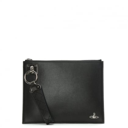 Sheffield Leather Wristlet Pouch