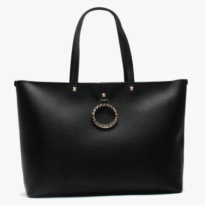9366f851f9 Shumshu Black Circular Logo Shopper Bag. Sale. Versace Jeans ...