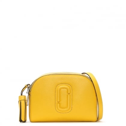 Marc Jacobs Shutter Canary Leather Small Camera Bag