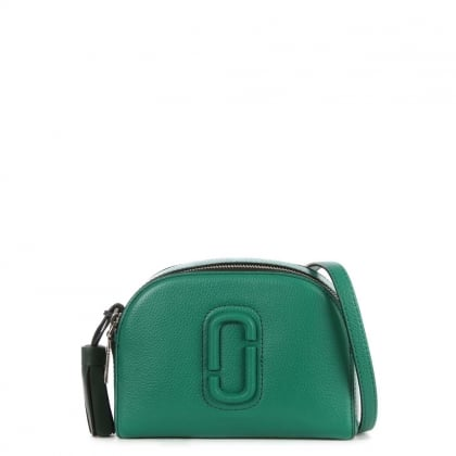 Shutter Evergreen Leather Small Camera Bag