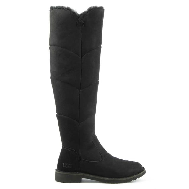 Sibley Black Twinface Knee Boot