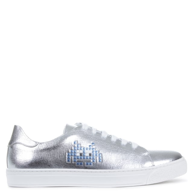 Silver Space Invader Trainers