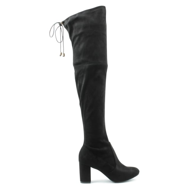 Skyang Black High Over Knee Boot
