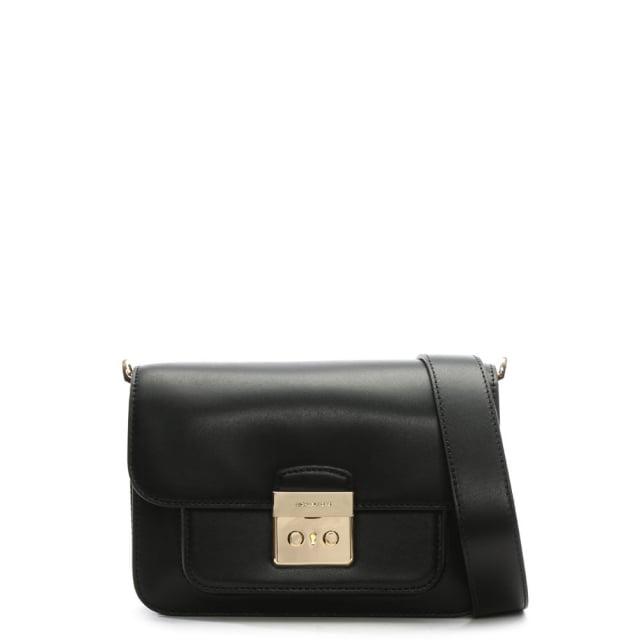 315fd7f1e15a Michael Kors Sloan Editor Black Shoulder Bag