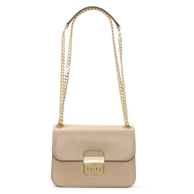 ab4e9ba3d307 Michael Kors Sloan Editor Medium Oyster Leather Shoulder Bag