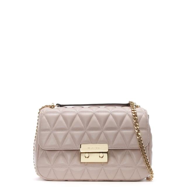 1540b4b75b56a8 Sloan Large Quilted-leather Shoulder Bag Soft Pink | Stanford Center ...