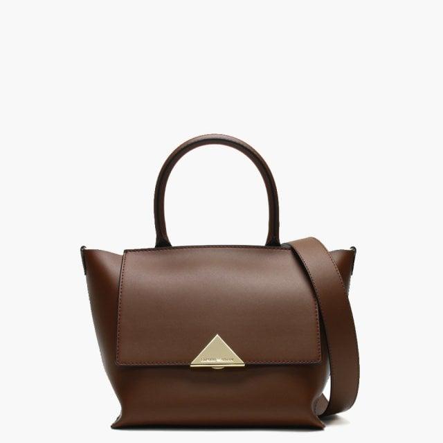7f8424b16f66 Emporio Armani Small Borsa Tan Top Handle Tote Bag