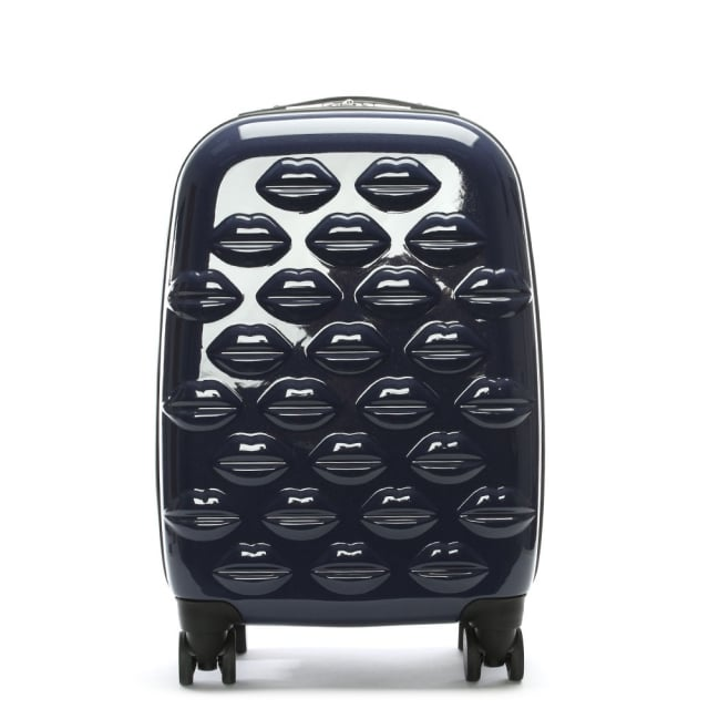 small-lips-navy-hardsided-spinner-suitcase