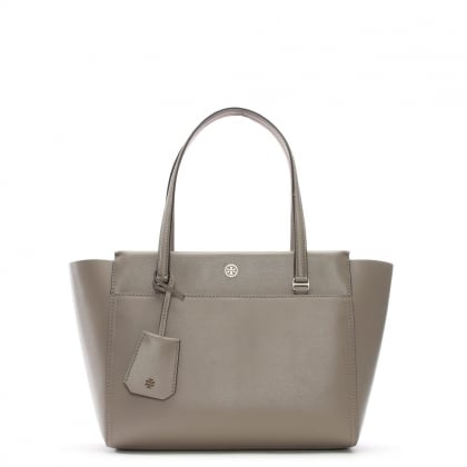Small Parker Dust Storm & Cardamon Leather Tote Bag