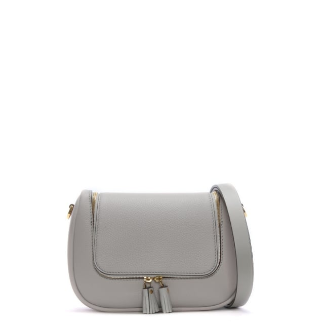Anya Hindmarch Small Vere Steam Leather Satchel Bag