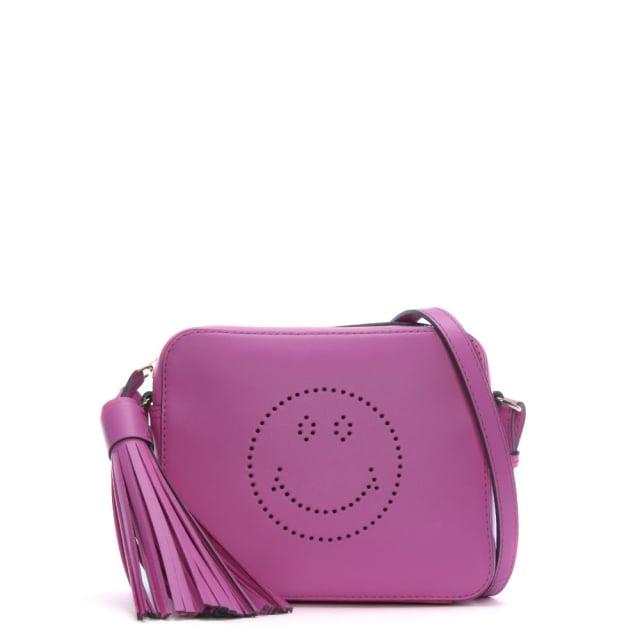 Anya Hindmarch Smiley Bubblegum Circus Cross-Body Bag