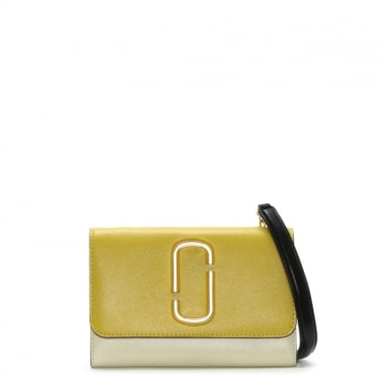 Snapshot Sunshine Multicoloured Leather Chain Wallet