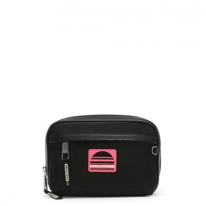 Sport Black Nylon Belt Bag