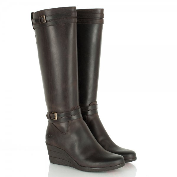 d2a0d3e452b Brown Women s Irmah Wedged Calf Boot