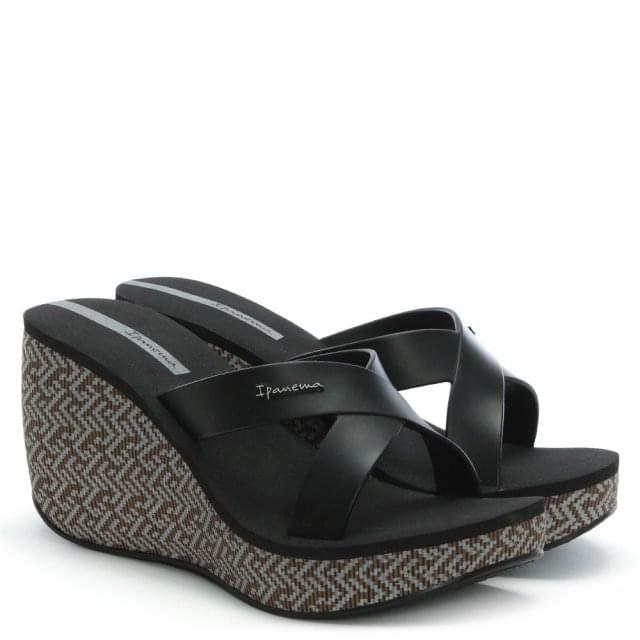 d6f91cf2c58c Ipanema Straps Black Wedge Sandals