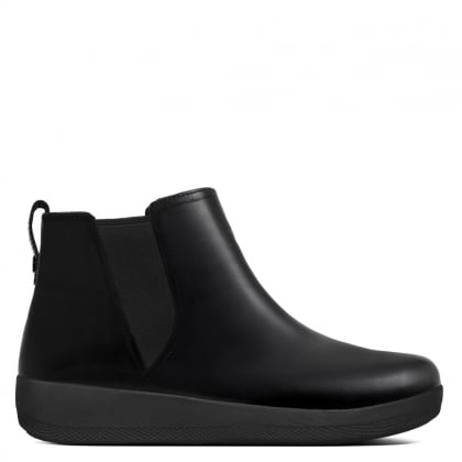Superchelsea Black Leather Boots