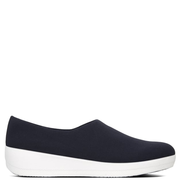 Superstretch Navy Bobby Loafers