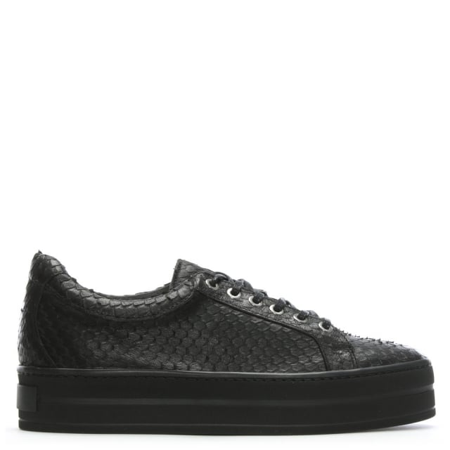 suri-black-leather-reptile-flatform-trainers