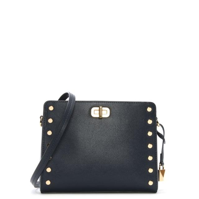 Sylvie Admiral Leather Messenger Bag