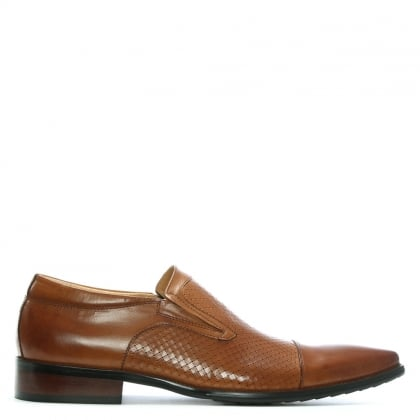 Tan Leather Bovington Slip On