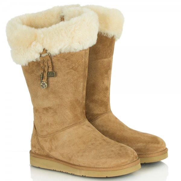 ugg plumdale charm flat sheepskin s boot