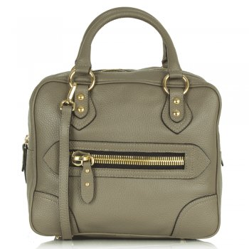 Taupe Leather Mitzi Bag