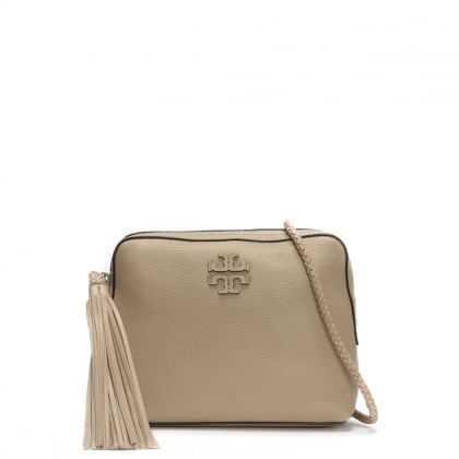 Taylor Soft Clay Leather Tassel Camera Bag