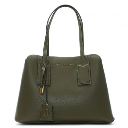 The Editor Lichen Leather Tote Bag