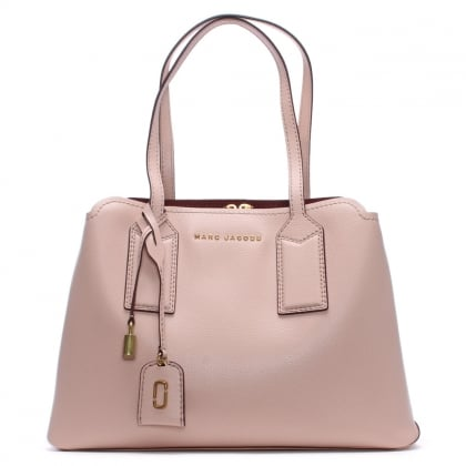 The Editor Rose Leather Tote Bag