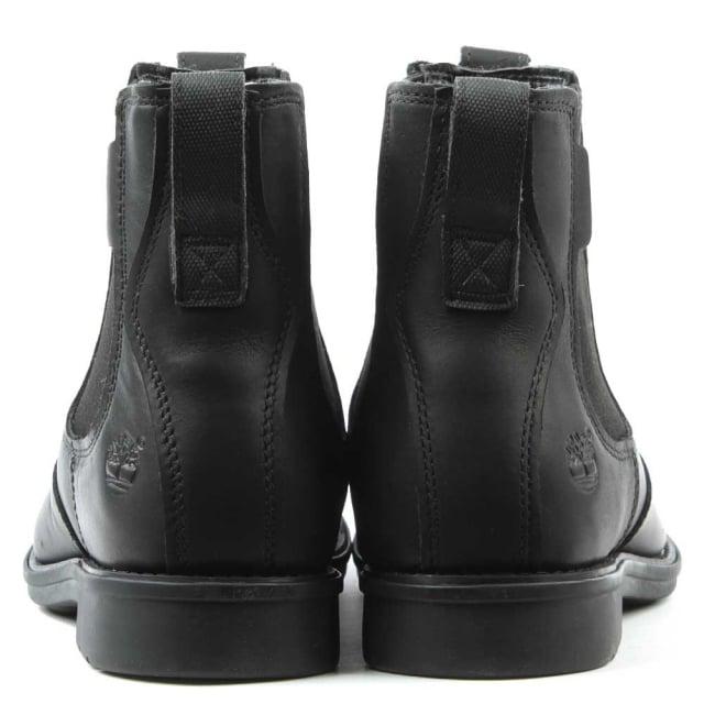 7e706475d157 Timberland Men s Carter Black Leather Chelsea Boot