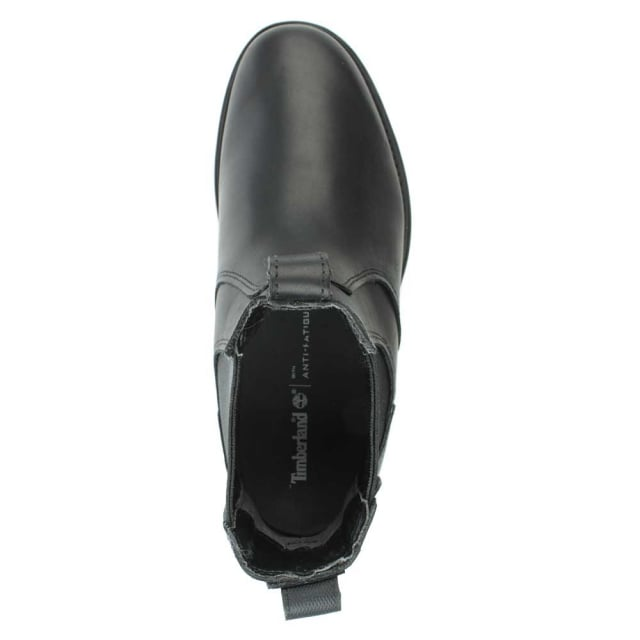 Men's Carter Black Leather Chelsea Boot
