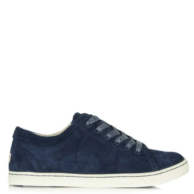 fb41fd361e5 Tomi Scallop Navy Suede Women's Trainer