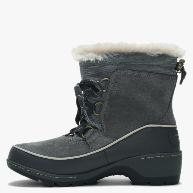67ed04740 Sorel Torino Quarry & Cloud Grey Lace Up Ankle Boots