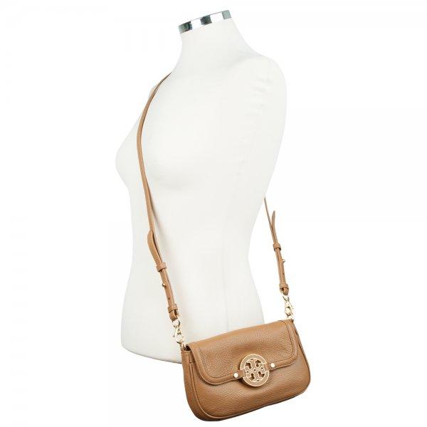 835f621fefae Tory Burch Tan Amanda Mini Women s Cross Body Bag