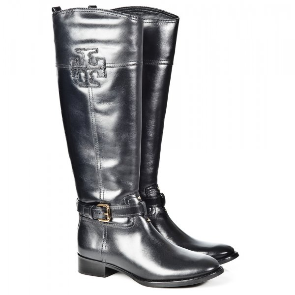daf3f2fe1aed Tory Burch Black Blaire Womens Riding Boot - Boots from Daniel ...