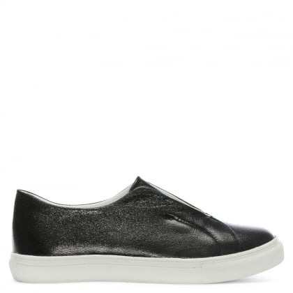 Turnberry Black Slip On Sporty Pumps