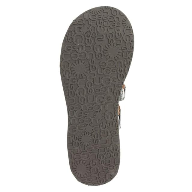 c26ab675076 UGG Audra Sterling Leather Toe Post Flip Flop
