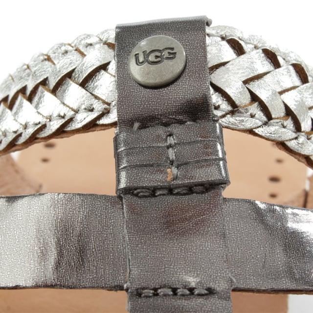 d585273b5ba Audra Sterling Leather Toe Post Flip Flop