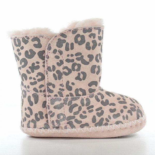 Baby Pink Leopard Cie Pre Walker Boot