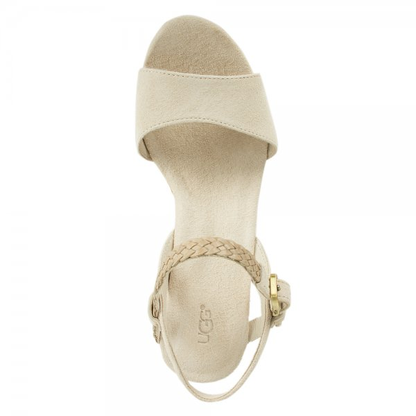 5397016d879e UGG® Cream D Alessio Women s Wedge Sandal