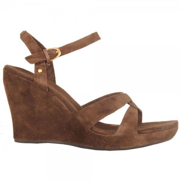 49fcdd51fa4 Espresso Arianna Women's Wedge Sandal